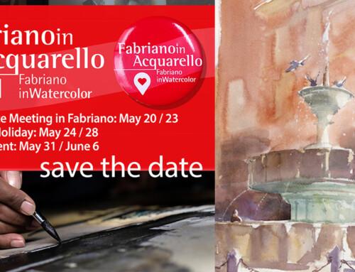Fabriano in Acquarello: l'edizione 2021 è online dal 30 maggio